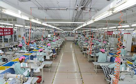 刘潭服装教您了解梭织服装生产工艺流程
