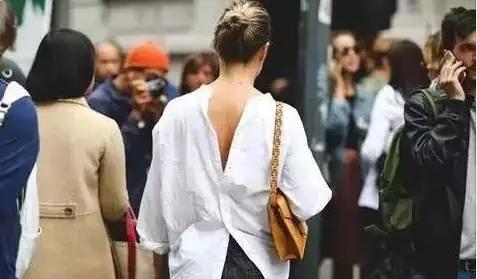 """衣领上蝴蝶结的系法_刘潭服装:一本正经地""""衬衫反着穿"""",不走寻常的性感美"""