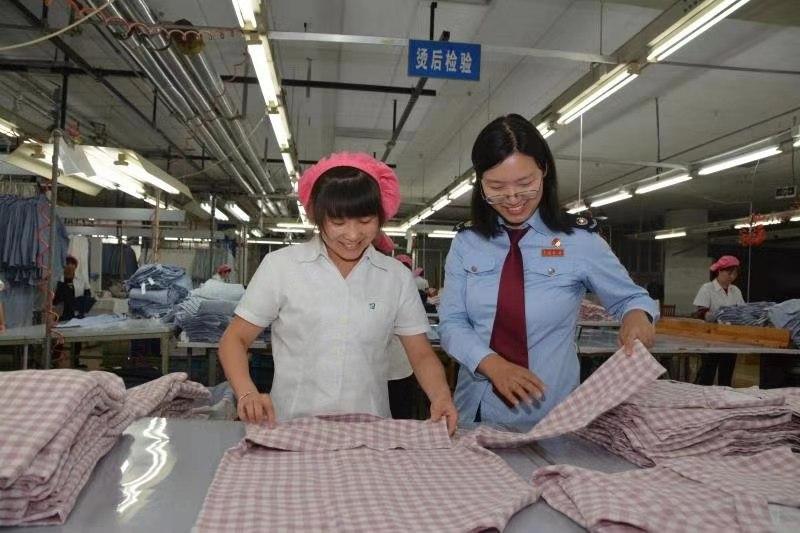 刘潭服装借力税法新政 出口退税绿色畅通