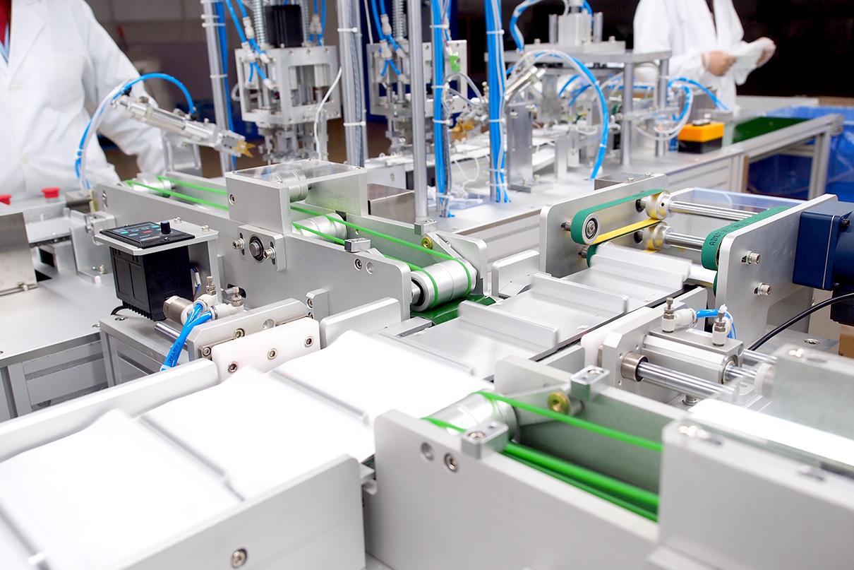 梁溪区领导到刘潭服装厂进行企业复工复产情况的专题视察