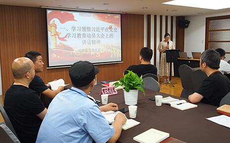 刘潭服装厂在党史学习中践行党的初心使命