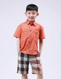 麻棉休闲衬衫