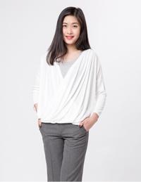 女式长袖针织衫