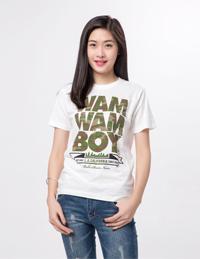 女式印花T恤衫