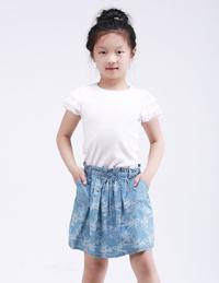 蕾丝边夏季短袖