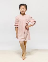 女童梭织全棉睡裙