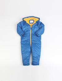 冬季男童印花连体服