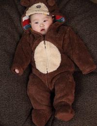 婴儿连体小熊爬爬装