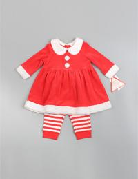 圣诞女童套装