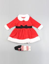 圣诞女童裙装