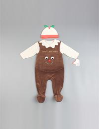 儿童圣诞连体服