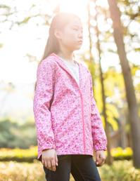 女童防水休闲夹克