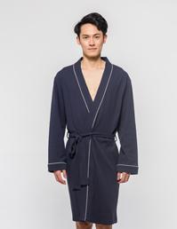 男式针织睡袍