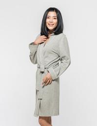 女式针织睡袍