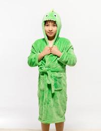 男童法兰绒卡通睡袍